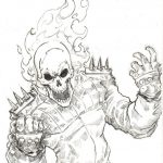 Ghost Rider Coloring Pages - Google Search   M F   Ghost Rider - Free Printable Ghost Rider Coloring Pages