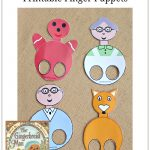 Gingerbread-Man-Finger-Puppets-Pinterest | New Teachers - Free Printable Version Of The Gingerbread Man Story