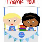 Girl Scouts   Daisies   Free Printable Thank You Cards | Girl Scouts   Free Printable Eagle Scout Thank You Cards