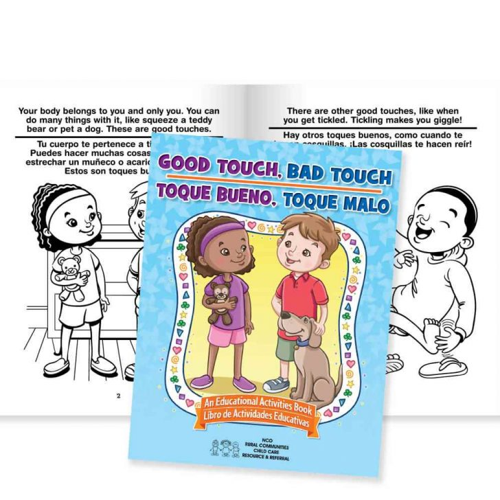 Free Printable Good Touch Bad Touch Coloring Book