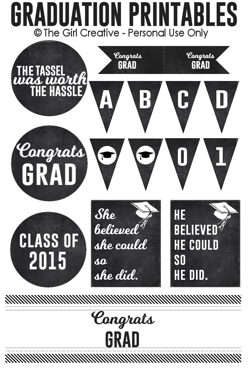 Graduation Printables | Best Of Pinterest | Graduation, Graduation - Free Printable Graduation Address Labels