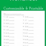 Greatest Common Factor Worksheet - Customizable And Printable | Math - Free Printable Lcm Worksheets