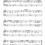 Greensleeves_Easy_Piano | Hedda In 2019 | Piano Sheet Music - Free Printable Classical Sheet Music For Piano