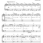 Hallelujahleonard Cohen Very Easy Piano Digital Sheet Music In   Free Printable Piano Sheet Music For Hallelujah By Leonard Cohen