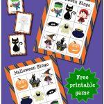 Halloween Bingo Game {Free Printable}   Gift Of Curiosity   Free Printable Halloween Bingo