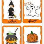 Halloween   Flashcards Worksheet   Free Esl Printable Worksheets   Free Printable Halloween Cards