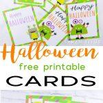 Halloween Free Printable Cards   Sarah Titus   Free Printable Halloween Cards