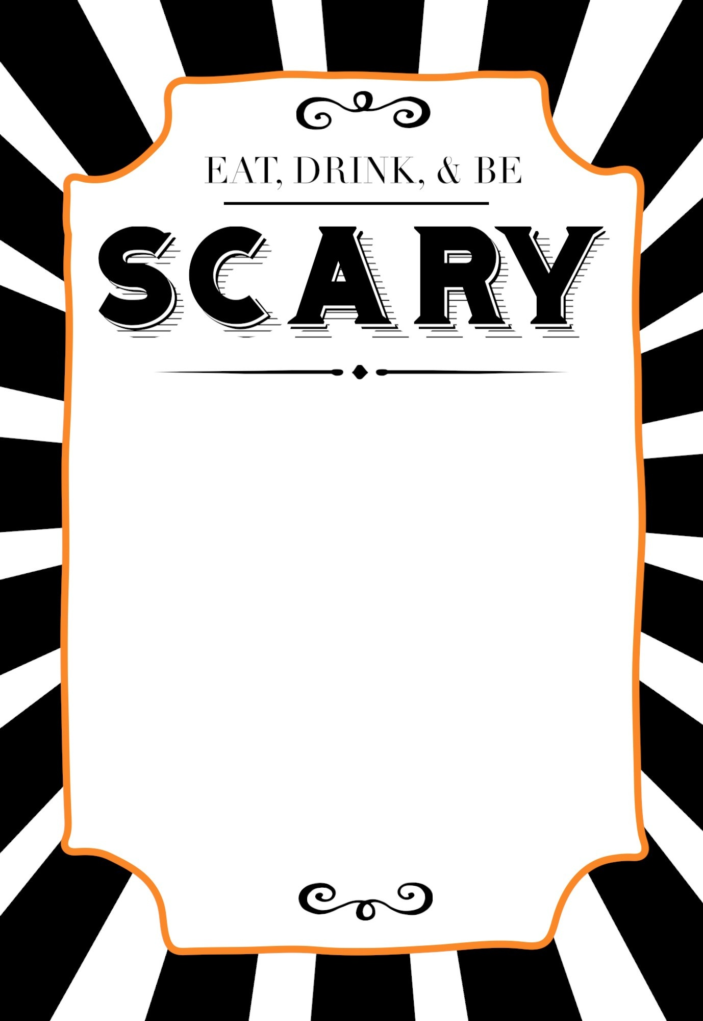 Halloween Invitations Free Printable Template - Paper Trail Design - Free Printable Halloween Invitations For Adults