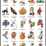 Halloween Vocabulaire   Education   Halloween Vocabulary, French   Free Printable French Halloween Worksheets