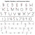 Handwriting Without Tears Printables | Here Is A Handy Letter   Handwriting Without Tears Worksheets Free Printable
