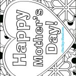 Happy Mother's Day Free Coloring Page Printable For Kids! | Mother's   Free Printable Mothers Day Cards Blue Mountain