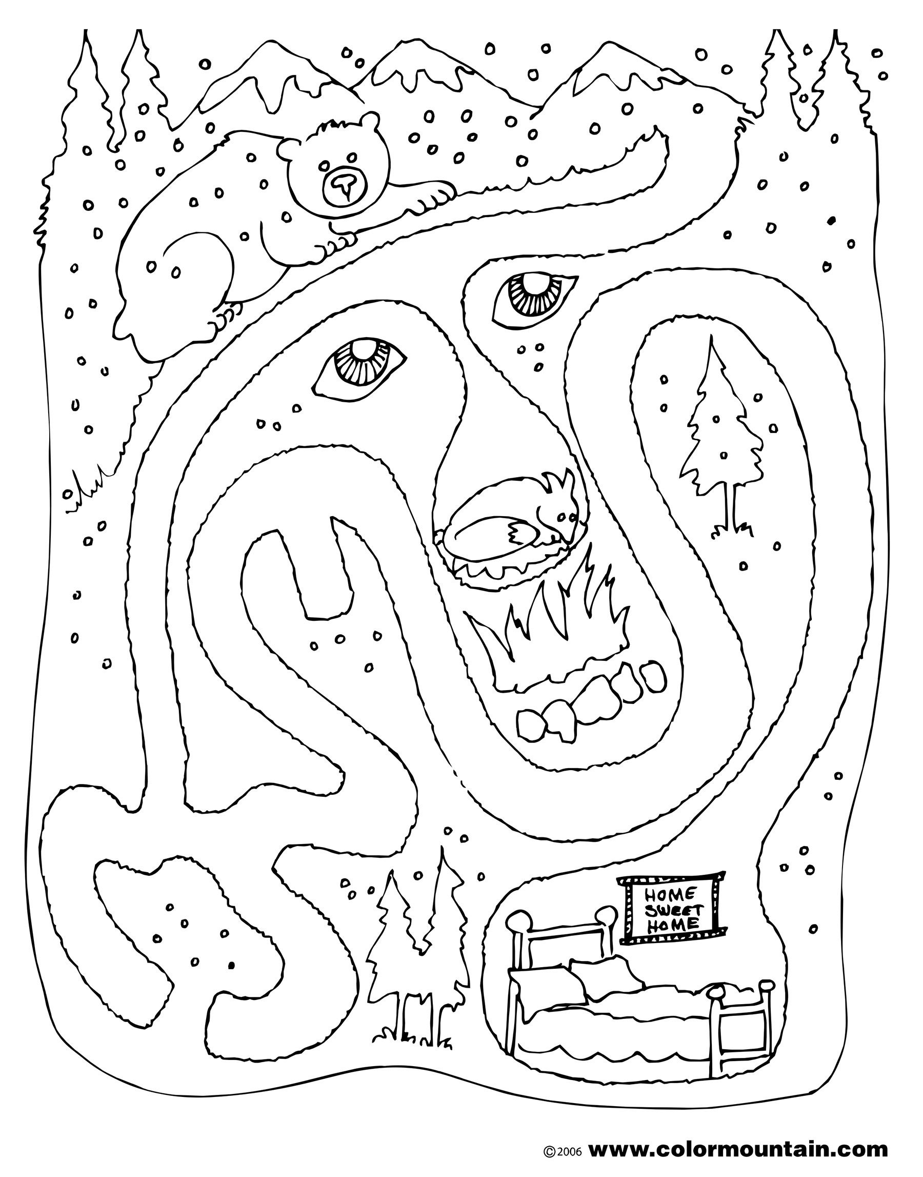 Hibernation Coloring Pages 9 Free Printable Coloring Pages - Free Printable Hibernation Worksheets
