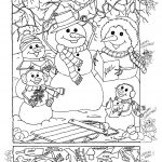 Hidden Pictures Publishing: Snowman Hidden Picture Puzzle For - Free Printable Christmas Hidden Picture Games