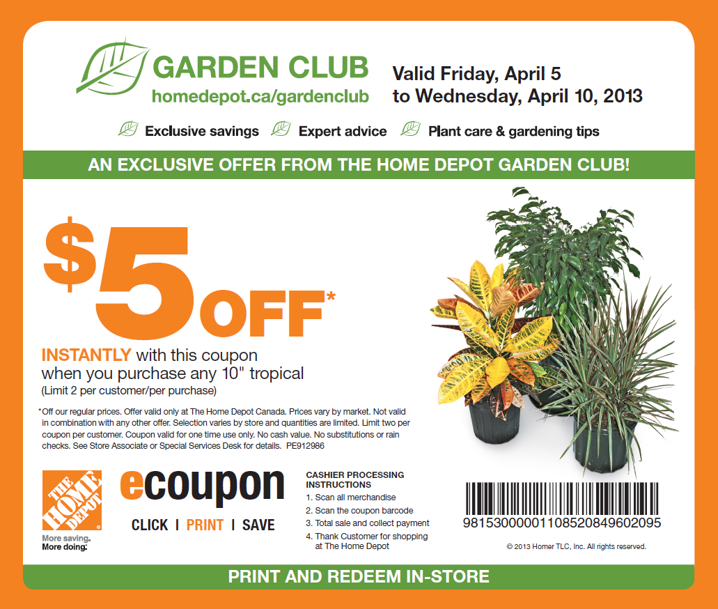 Home Depot Coupons 20 Off | Printable Coupons Online - Free Printable Home Depot Coupons