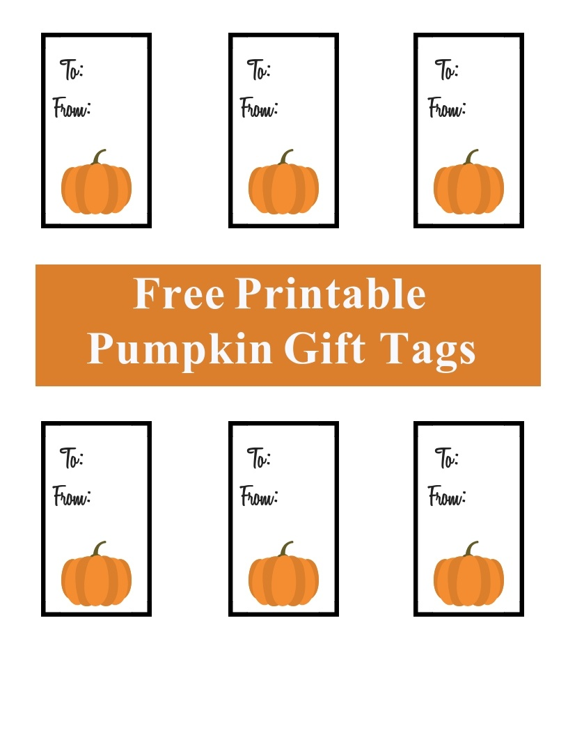 Homemade Pumpkin Butter - A Cup Full Of Sass - Free Printable Pumpkin Gift Tags