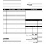 Hoover Receipts | Free Printable Service Invoice Template   Pdf   Free Printable Blank Receipt Form