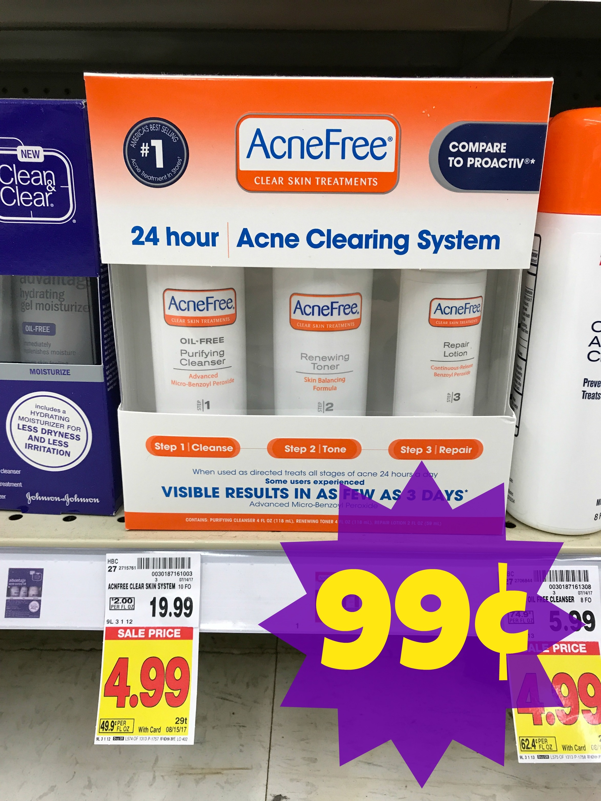 Hot Deal* Acnefree Acne Clearing System Only $0.99 At Kroger (Reg - Acne Free Coupons Printable