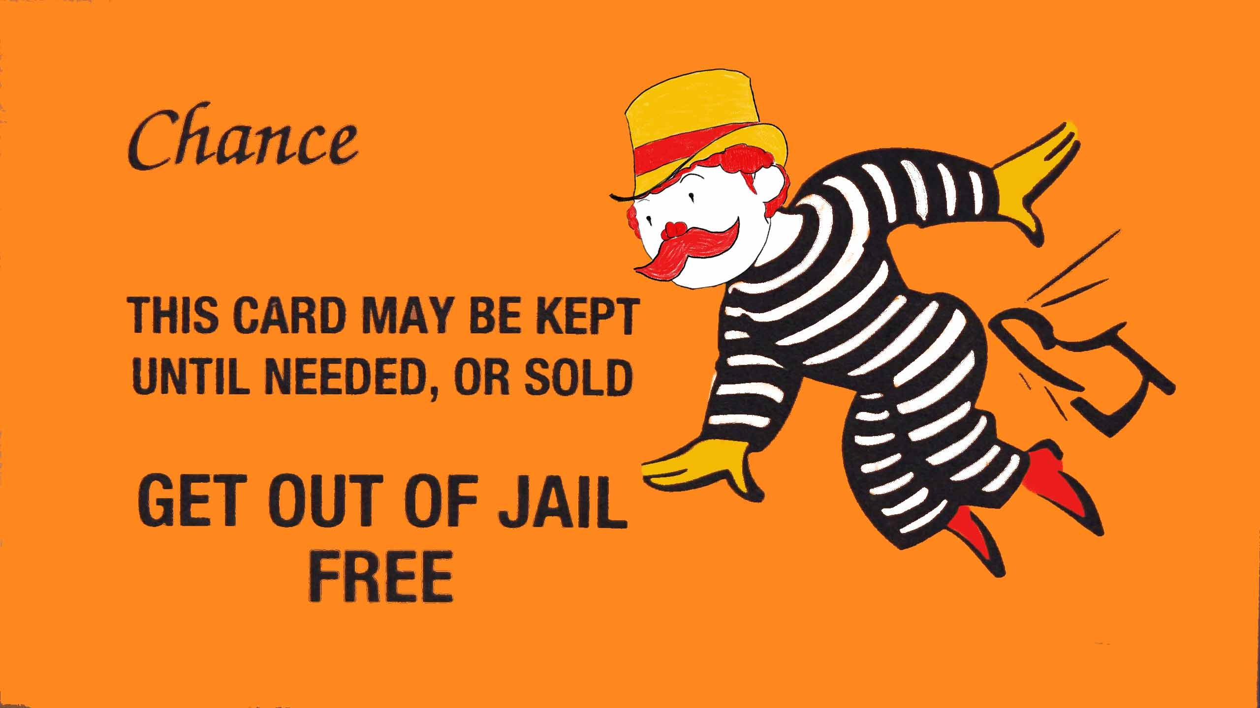How Ex-Cop Jerome Jacobson Rigged Mcdonald's Monopoly Game And Stole - Get Out Of Jail Free Card Printable