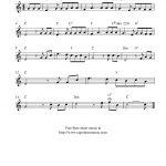 How Great Thou Art, Free Christian Flute Sheet Music Notes   Free Printable Flute Sheet Music