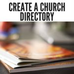How To Create A Church Directory   Free Printable Church Directory Template