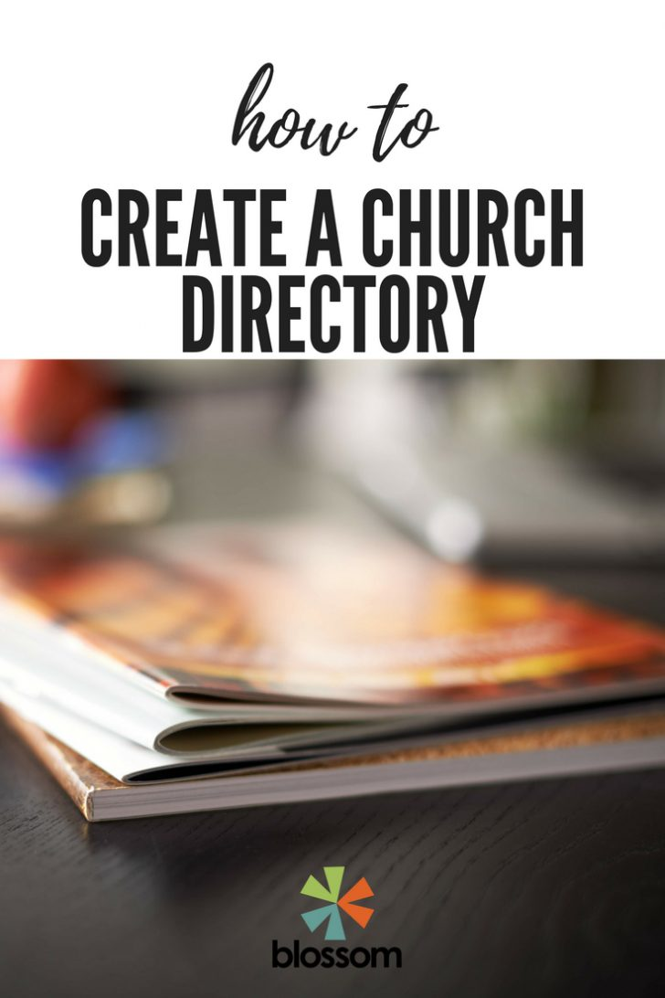 Free Printable Church Directory Template