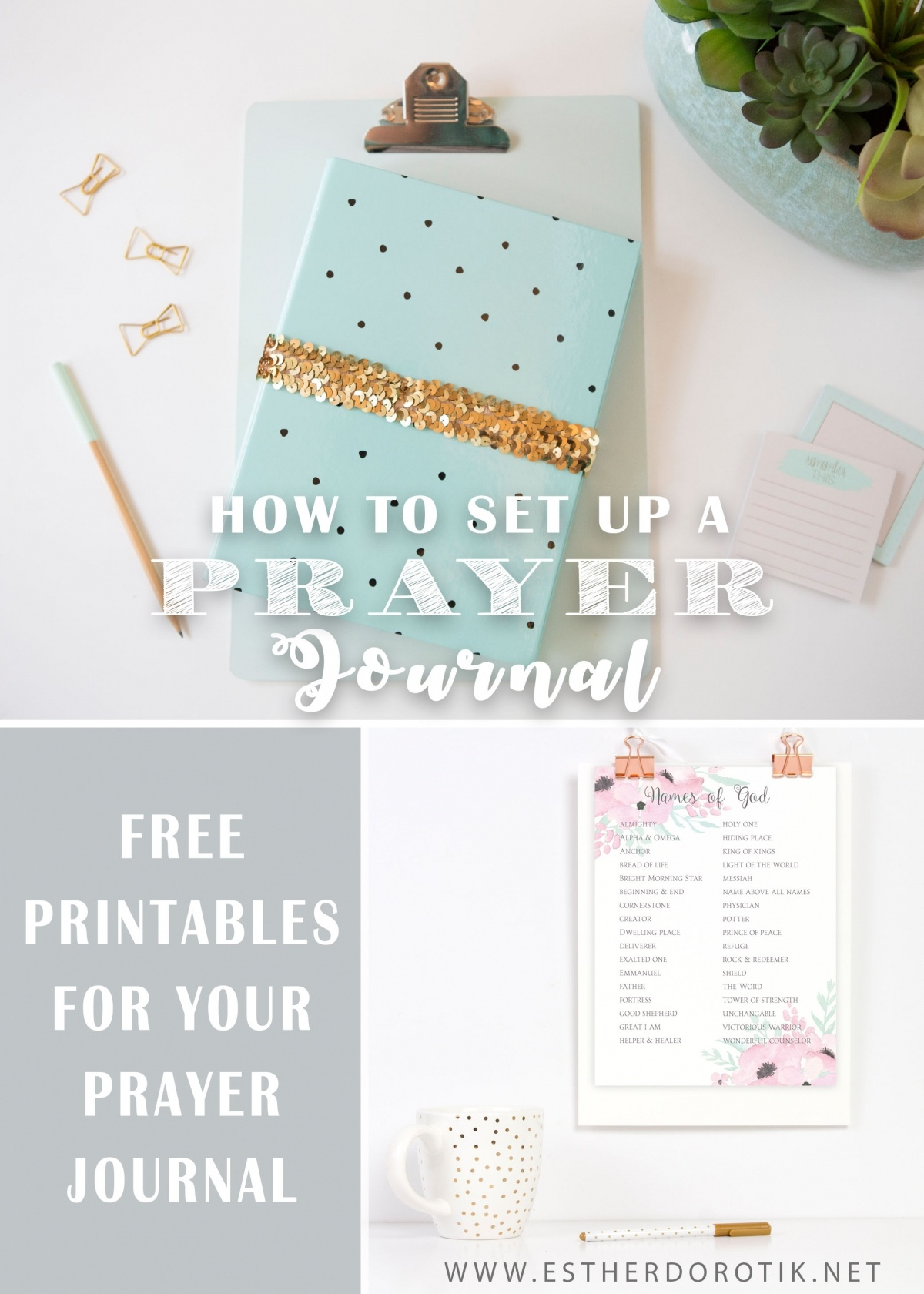 How To Create A Prayer Journal | Free Prayer Journal Printables - Free Printable Prayer Journal