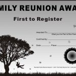 Ideas For Certificates Kids At Prayer Is A Free Certificates Family   Free Printable Family Reunion Awards