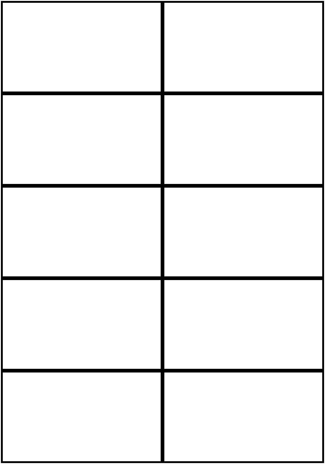 Image Result For Flashcards Template Word | Worksheets | Free - Free Printable Business Templates