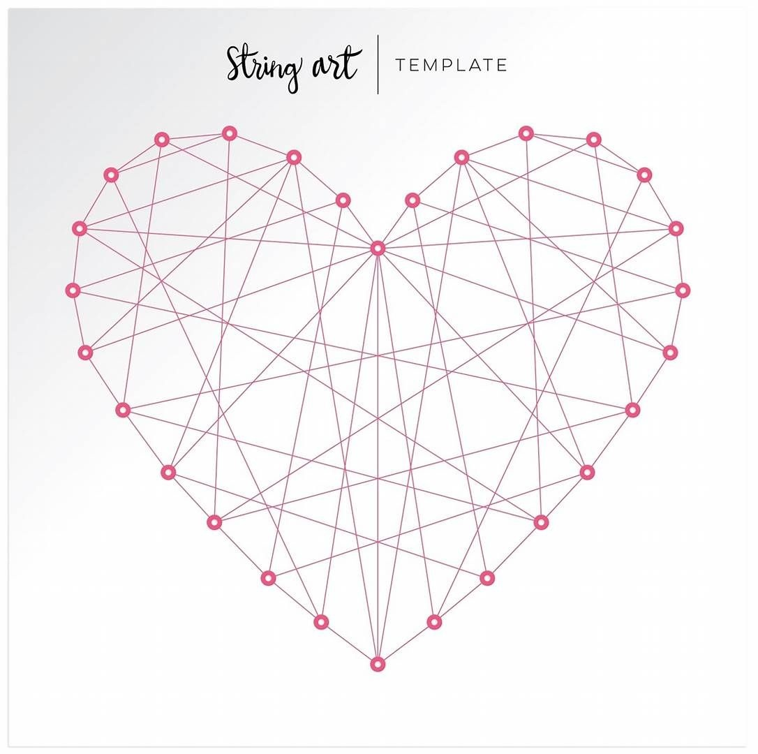 Image Result For Free Printable String Art Patterns | Voor Beeld Art - Free Printable String Art Patterns