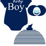 Instant Download Baby Nautical Navy Printable Photo Booth Prop Set   Free Printable Baby Shower Photo Booth Props