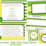 John Deere Baby Shower Ideas John Deere Baby Showerjohn Deere Gift   Free Printable John Deere Baby Shower Invitations