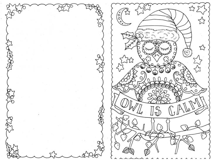 Free Printable Color Your Own Cards