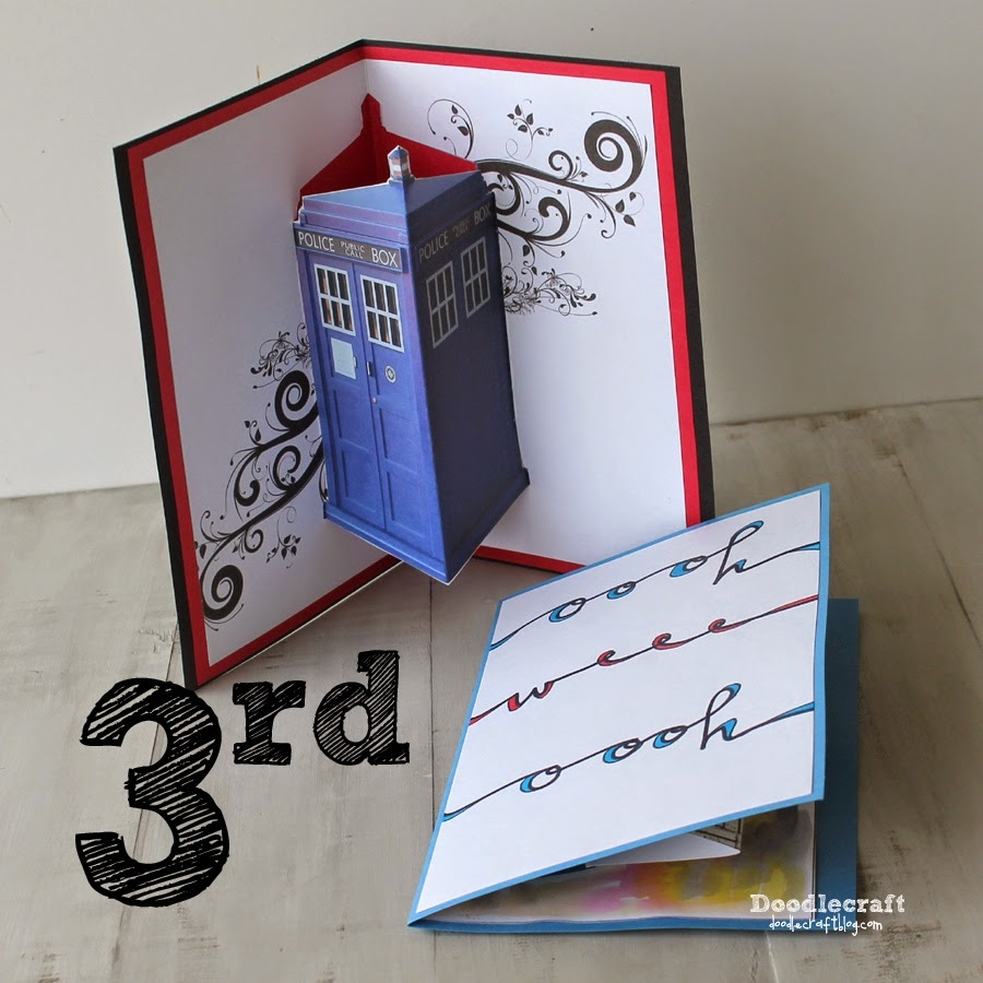 Jon Pertwee Pop Up Cards--3Rd Day Of Doctor Who! - Free Printable Dr Who Birthday Card
