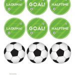 Kara's Party Ideas World Cup Soccer Party | Kara's Party Ideas – Free Printable Soccer Birthday Invitations