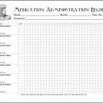 Keeping Track Of Medications {Free Printable Chart}   Flanders   Medication Chart Printable Free