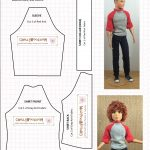 Ken Doll Patterns Printable | Doll Clothes Patterns | Chelly Wood   Ken Clothes Patterns Free Printable