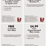 Kfc Canada Printable Coupons November 2018 / Wcco Dining Out Deals   Free Printable Coupons Ontario