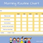 Kids Morning Routine Checklist  With Free Printable   Stuff Mums Like   Free Printable Morning Routine Chart