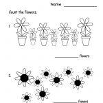 Kindergarten Spring Flowers Worksheet Printable | Future Classroom - Free Printable Spring Worksheets For Kindergarten