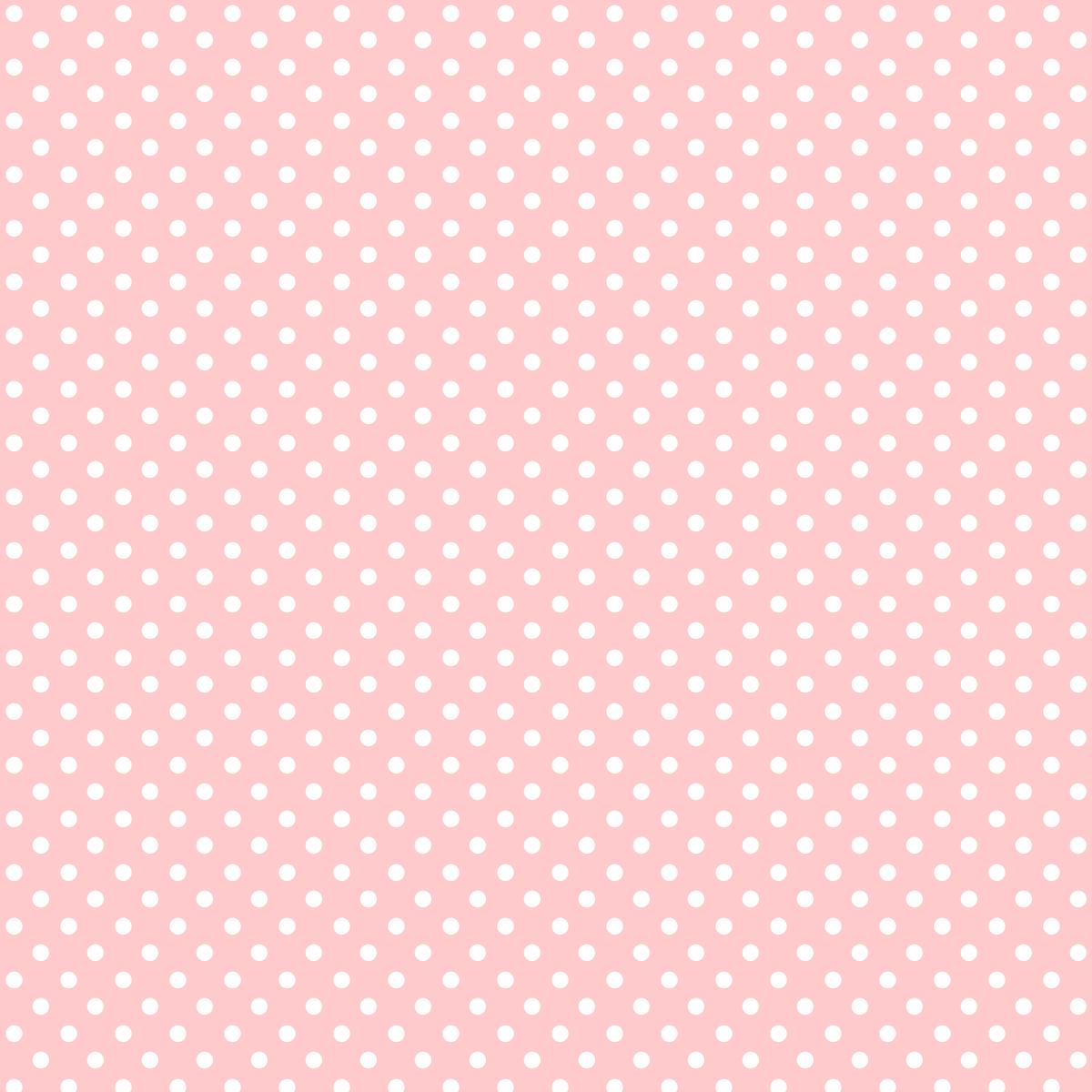 """La Vie En Rose"""": Free Printable Digital Scrapbooking Paper – Polka - Free Printable Pink Polka Dot Paper"""