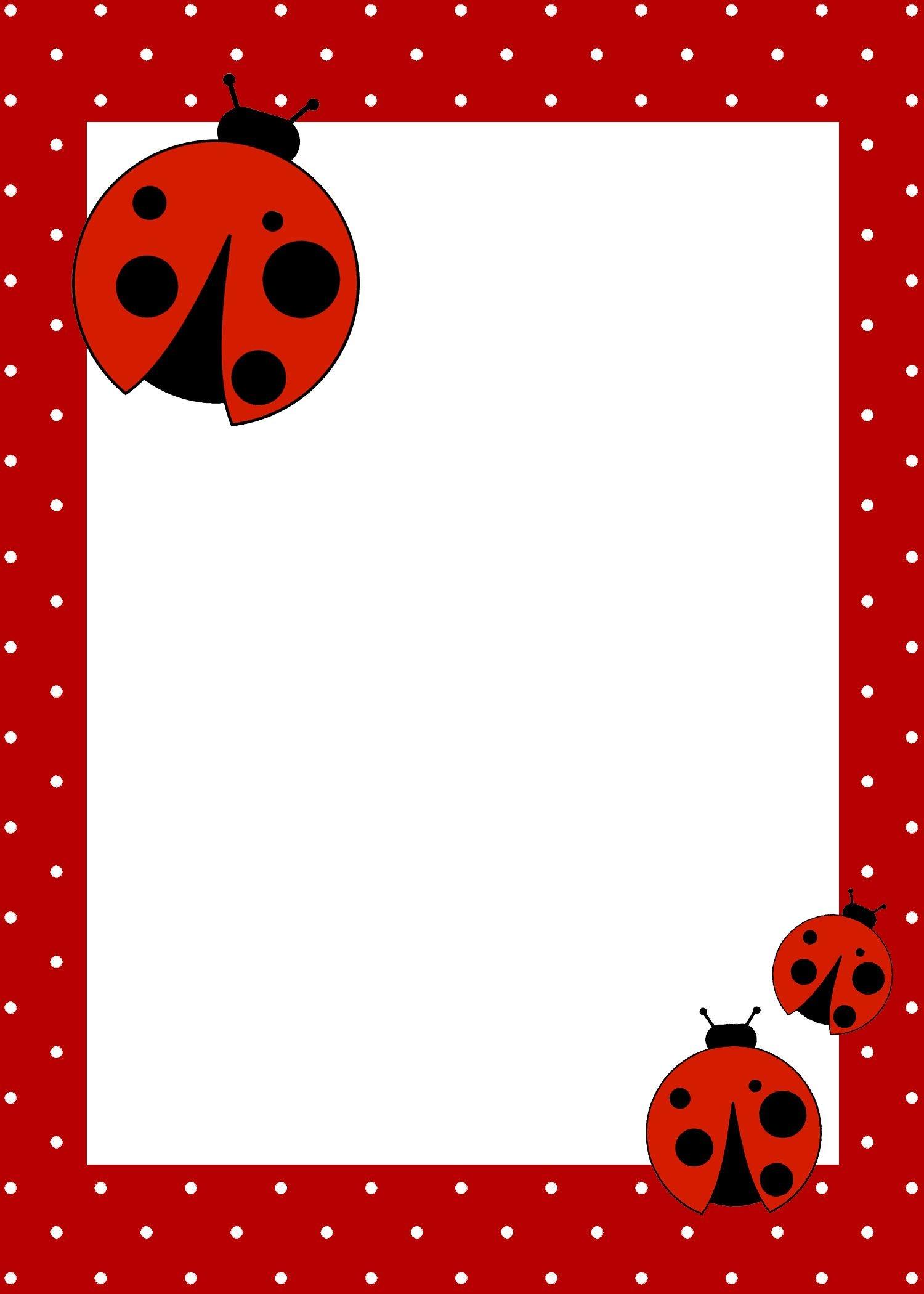 Ladybug Birthday Party With Free Printables | Ideas For The Craft - Free Printable Ladybug Invitations