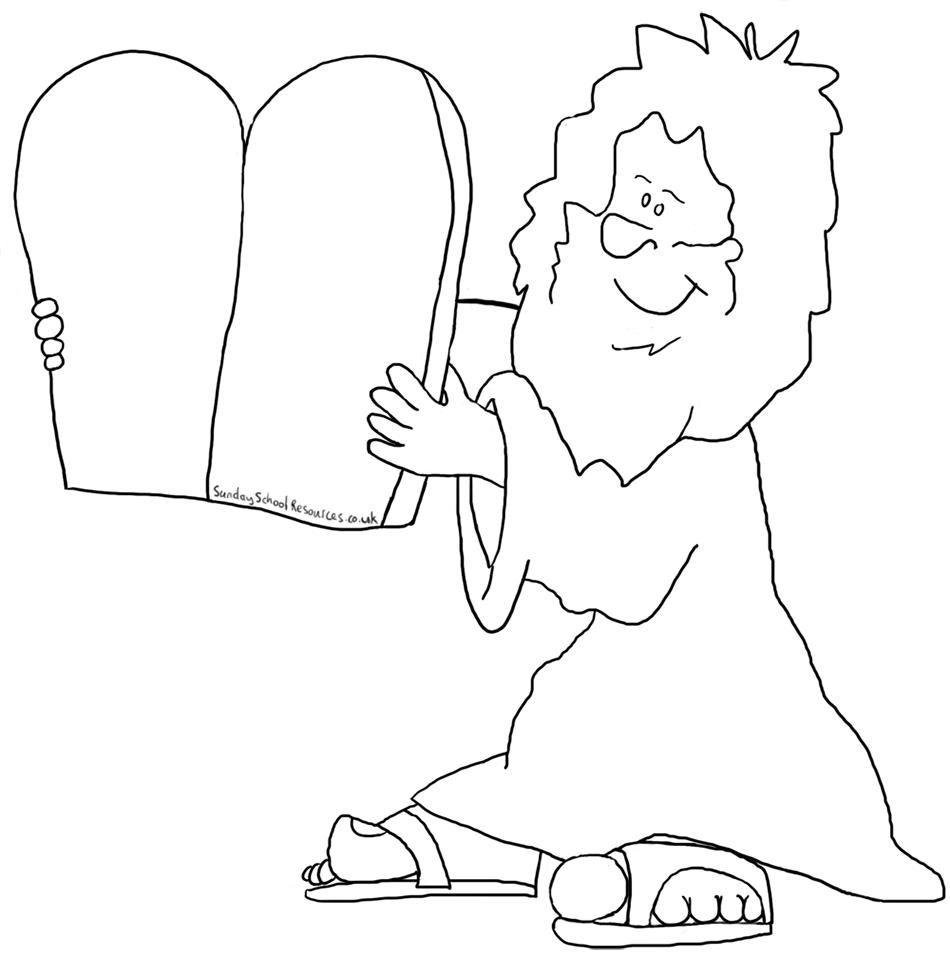 Lds Ten Commandments Coloring Pages Lineart - Get Coloring Page - Free Printable Ten Commandments Coloring Pages