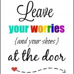Leave Your Shoes At The Door Printable | Free Printable Ideas - Free Printable Remove Your Shoes Sign