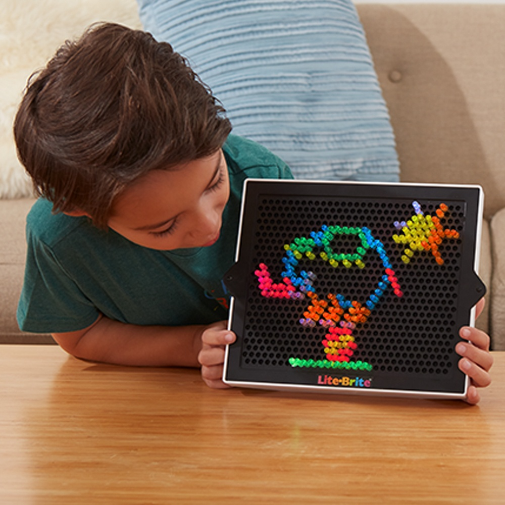 Lite Brite Ultimate Classic – With 6 Templates And 200 Colored Pegs - Lite Brite Printable Patterns Free