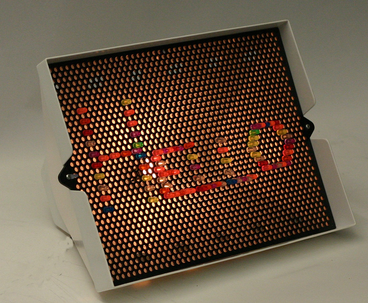 Lite-Brite - Wikipedia - Lite Brite Printable Patterns Free