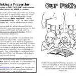 Lord's Prayer For Children, Free Prayer Coloring And Prayer Crafts   Free Printable Lord's Prayer Coloring Pages