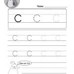 "Lowercase Letter ""c"" Tracing Worksheet   Doozy Moo   Free Printable Letter C Worksheets"