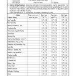 Luxury 45 Sample Parenting Plan Calendar Template | Xunhuagd   Free Printable Parenting Plan