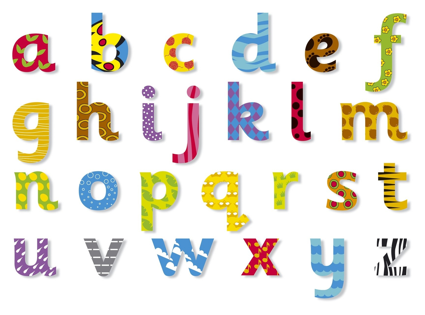 Luxury Free Printable Alphabet Letters Lower Case   Www.pantry-Magic - Free Printable Clip Art Letters