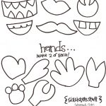 Make Your Own Monster Puppets Printable Pattern | Six Sisters' Stuff   Free Printable Monster Templates
